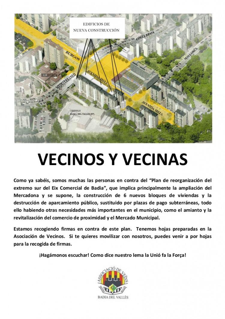 VECINOS Y VECINAS MERCADONA
